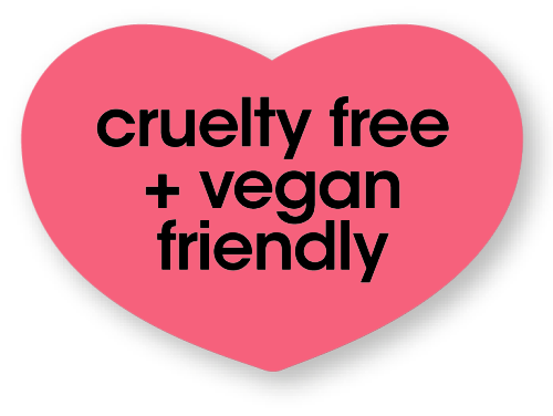 cruelty free and vegan friendly