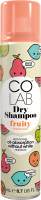 Fruity Dry Shampoo Can