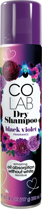 Black Violet Dry Shampoo Can