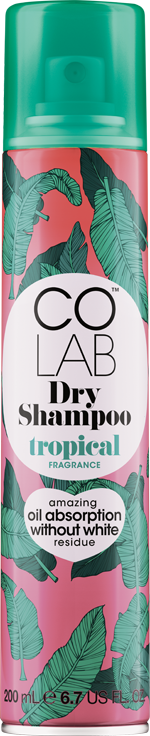 Tropical COLAB Dry Shampoo can