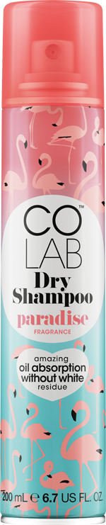 Paradise COLAB Dry Shampoo can