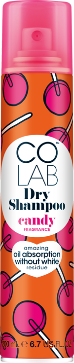 Candy COLAB Dry Shampoo can