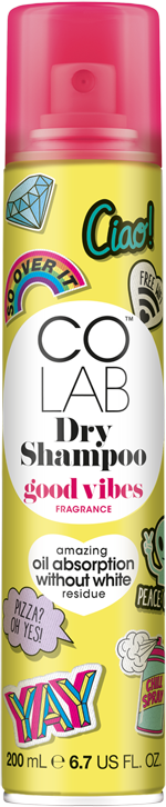 Good Vibes Dry Shampoo Can