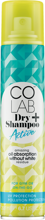 Active<br><small>Dry Shampoo+</small> COLAB Dry Shampoo can